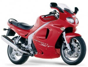 TRIUMPH SPRINT ST 2002-2004 RED