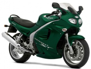TRIUMPH SPRINT ST 2002-2004 GREEN