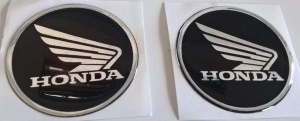 GEL 3D LOGO HONDA 60 mm