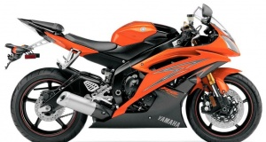 YAMAHA YZF R6 2009 ORANGE